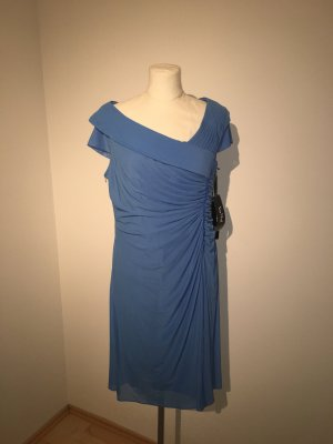 Vera Mont Cocktailkleid Kleid Gr.44 hellblau NEU