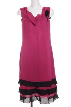 Vera Mont Cocktailkleid pink-schwarz Elegant