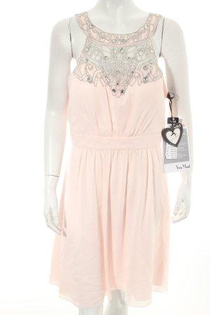 Vera Mont Cocktailkleid rosa-silberfarben Eleganz-Look