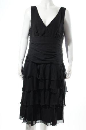 Vera Mont Cocktailkleid schwarz Eleganz-Look