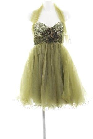 Vera Mont Cocktailkleid waldgrün extravaganter Stil