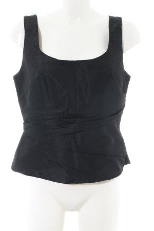 Vera Mont Corsage topje zwart casual uitstraling