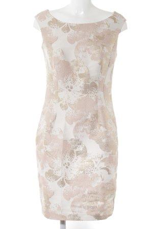 Vera Mont Etuikleid rosé-goldfarben Farbtupfermuster Elegant