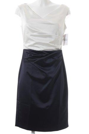 Vera Mont Etuikleid weiß-dunkelblau Elegant