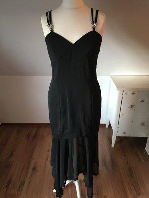 Vera Mont Gr 40 42 schwarz Abendkleid Kleid Cocktailkleid edel elegant Abschluss