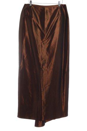 Vera Mont High Waist Rock bronzefarben Elegant