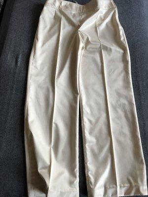 Vera Mont Pantalon à pinces blanc cassé
