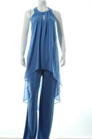 Vera Mont Jumpsuit kornblumenblau extravaganter Stil