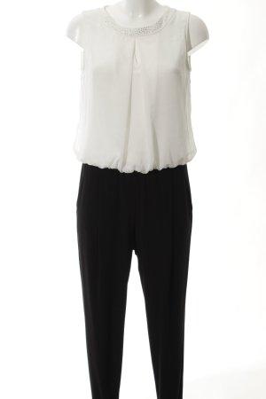 Vera Mont Jumpsuit schwarz-wollweiß Elegant