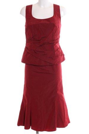 Vera Mont Kostüm rot Business-Look