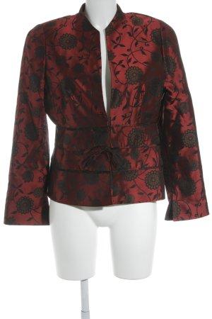 Vera Mont Kurz-Blazer florales Muster klassischer Stil