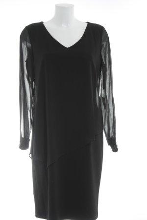 Vera Mont Langarmkleid schwarz Elegant