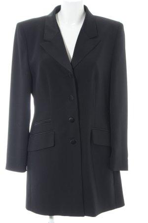 Vera Mont Blazer lungo nero stile casual