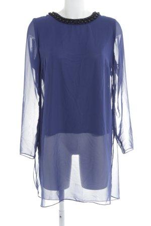 Vera Mont Long-Bluse dunkelblau Elegant