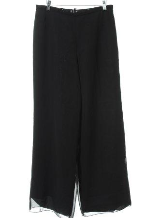 Vera Mont Pantalón anchos negro elegante