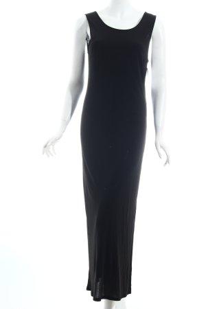 Vera Mont Maxikleid schwarz schlichter Stil