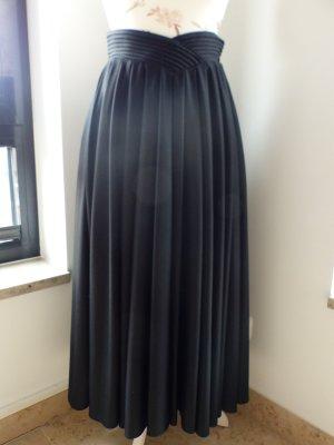 Vera Mont Jupe à plis noir polyester