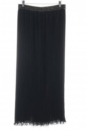 Vera Mont Maxi Skirt black-gold-colored elegant