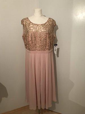 Vera Mont Midikleid Gr.46 Kleid mit Glitzer NEU
