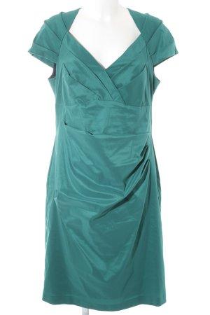 Abendkleid vera mont blau grau