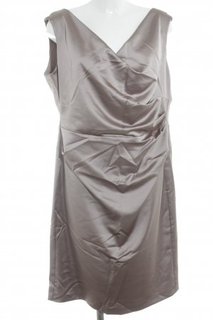 Vera Mont Mini vestido marrón grisáceo estilo «business»