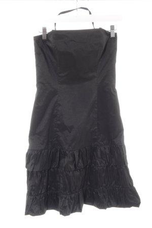 Vera Mont Vestido de cuello Halter negro estilo fiesta