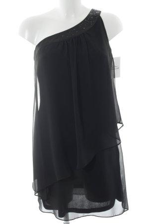 Vera Mont One Shoulder Dress black elegant