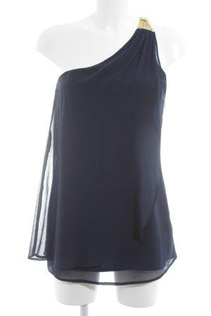 Vera Mont One-Shoulder-Top dunkelblau-goldfarben Elegant