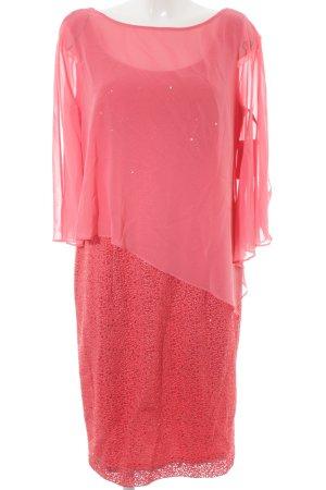 Vera Mont Sequin Dress magenta elegant