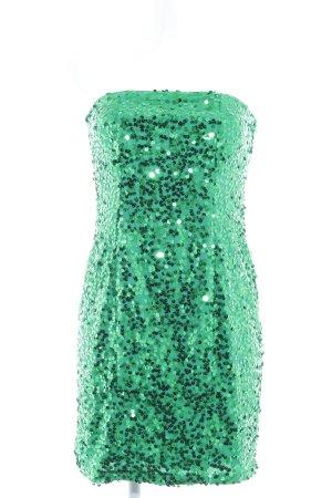 Vera Mont Abito con paillettes verde bosco stile festa