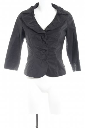 Vera Mont Ruche blouse zwart elegant