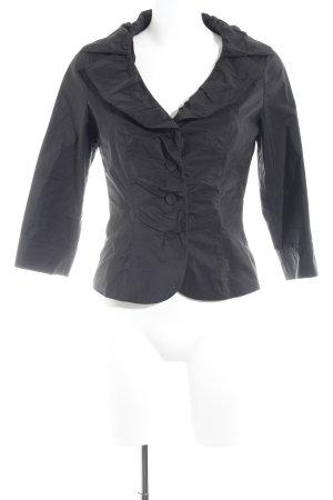 Vera Mont Rüschen-Bluse schwarz Elegant
