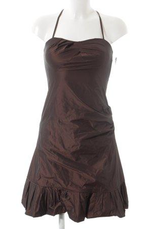 Vera Mont schulterfreies Kleid dunkelbraun Elegant