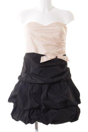 Vera Mont schulterfreies Kleid nude-schwarz extravaganter Stil
