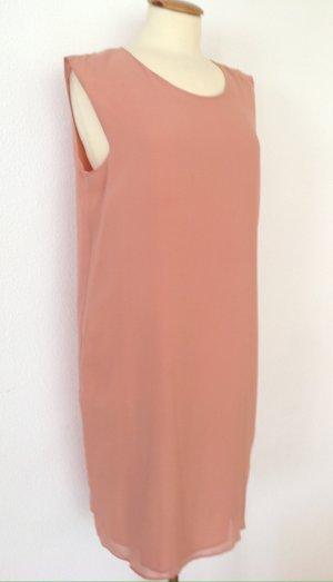 Vera Mont Chiffon jurk abrikoos