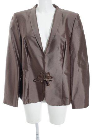 Vera Mont Blazer de esmoquin marrón grisáceo estilo «business»