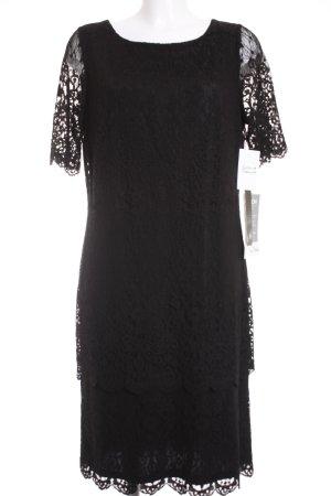 Vera Mont Spitzenkleid schwarz Elegant