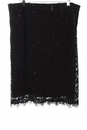Vera Mont Lace Skirt black party style