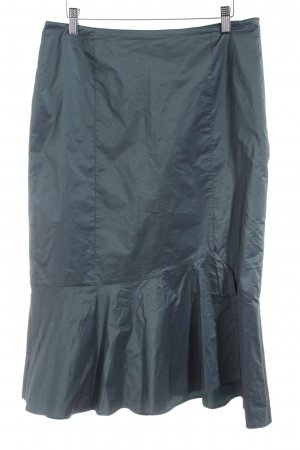 Vera Mont Taffeta Skirt dark green business style