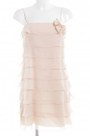 Vera Mont Flounce Dress nude party style