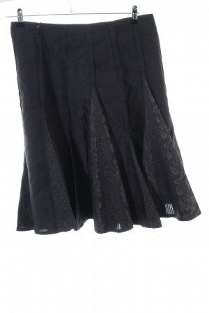 Vera Mont Flounce Skirt black casual look