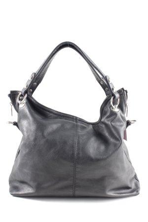 Vera Pelle Handbag black business style