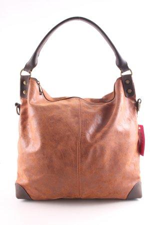 Vera Pelle Hobos brown casual look