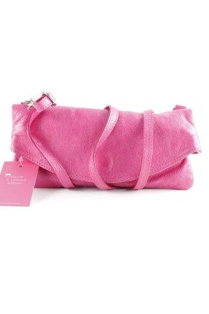 Vera Pelle Minitasche rosa minimalistischer Stil