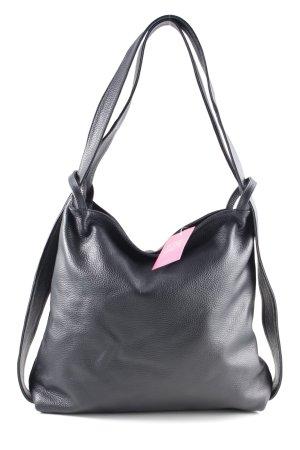 Vera Pelle Sac porté épaule noir style d'affaires