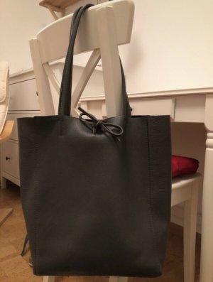 Vera Pelle Shopper grey