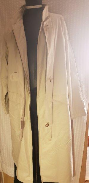 Manteau en duvet beige clair coton