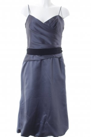 Vera Wang Evening Dress dark grey casual look