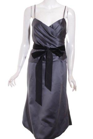 Vera Wang Abendkleid grau Elegant