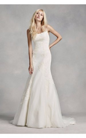 Vera Wang Brautkleid Hochzeitskleid Boho wedding dress